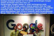 Tahniah kepada 4 orang pelajar FSKM