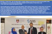 Universiti Teknologi MARA is the first to be named an accredited training provider under the SAS Academy for Data Science in Malaysia