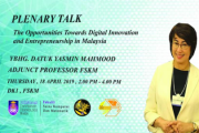 THE OPPORTUNITIES TOWARDS DIGITAL INNOVATION AND ENTREPRENEURSHIP IN MALAYSIA