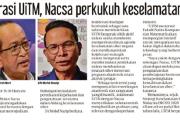 Kolaborasi UiTM, Nacsa perkukuh keselamatan siber
